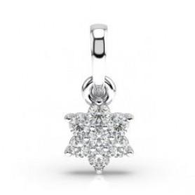 Nakshatra Diamond Pendant & Stud - Sale