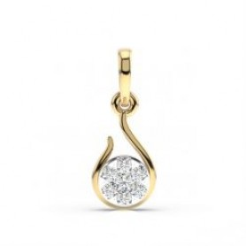 Daisy Diamond Pendant & Stud Set -Sale