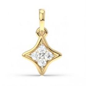 Diamond Pendant & Stud Jewelry Set