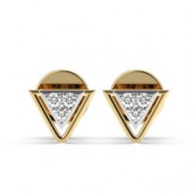 Trinity Diamond Studs - Sale