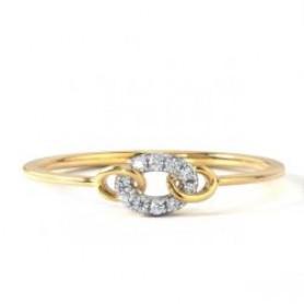 Circular Casual Diamond Ring - Sale