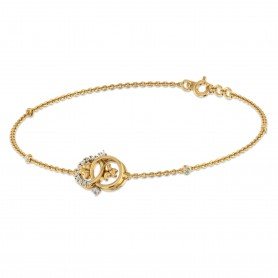 Trinity Diamond Chain Bracelet - Gifting