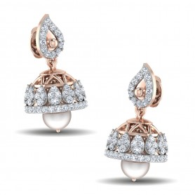 Diamond &Pearl Sequence Jhumki
