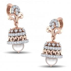 Diamond & Pearl Sequence Jhumki
