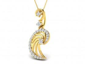 Diamond Filigree Pendant & Earring