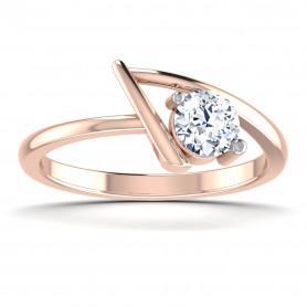 Diamond Leaf Classic Ring