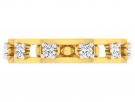 18K Diamond Men's Ring