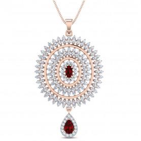 Diamond & Gemstone Jewelry Set