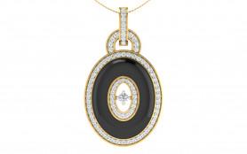 Diamond & Enamel Jewelry Set