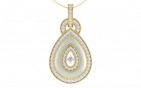 Two tone Diamond Jewelry Set