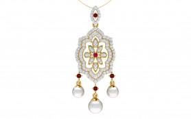 Diamond,  Pearl & Gemstone Jewelry Set