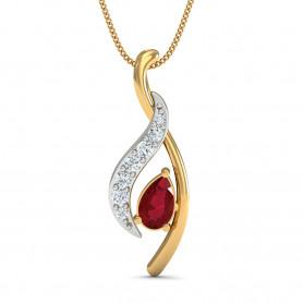 Garnet & Diamond Jewelry Set