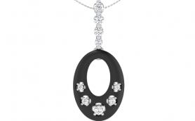 Enamel Diamond Classic Jewelry Set