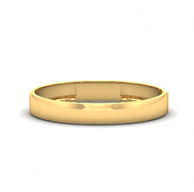 Men's Gold Cuff Bangle Bracelet - Motivic Collection