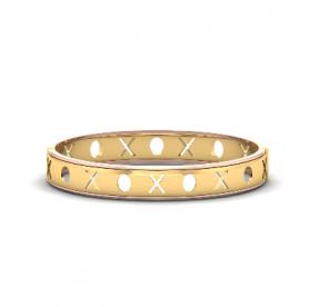 XOXO - Men's Cuff Bangle Bracelet - Motivic Collection