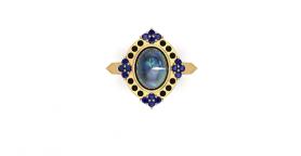 Vintage Multi Gemstone Ring